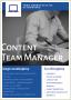 Content Team Manager Warszawa