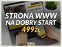 Strony internetowe www na dobry start 499zł